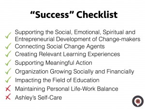 Success Checklist